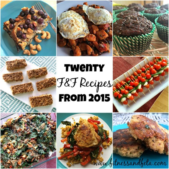 Twenty F&F Recipes from 2015