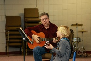 Guitar Lessons for Children. Learn to play guitar. Dr. James Cline, Guitar Lessons for Kids and Teens in Denver and Thornton.