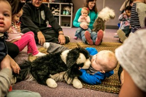 BabyROO! Gym class and music class for babies near Denver at A Child's Song in Thornton.