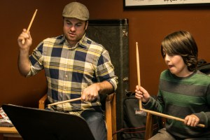 Drum lessons for children at A Child's Song in Thornton.