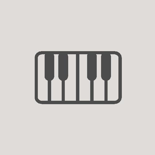 music lesson icon piano