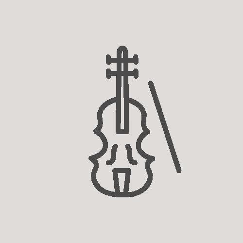 music lesson icon violin