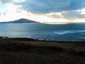 Atlantic Drive: view to Clare Island