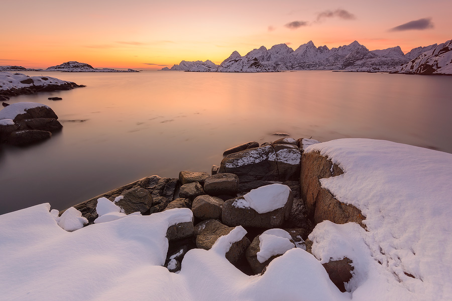 Lofoten Winter Sunset