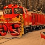 Schnee Zug