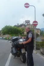 Achim on tour