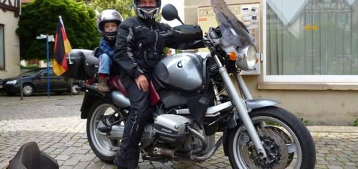 Motorrad Roller Kindersitz