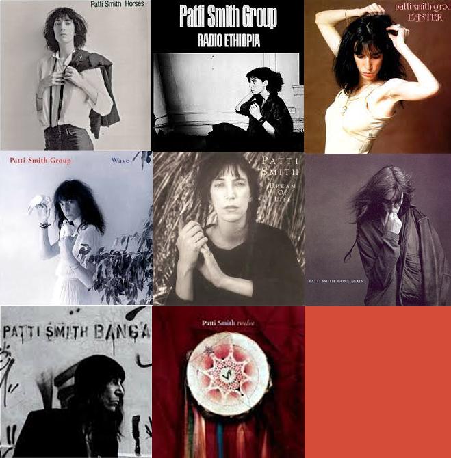 Meine Patti Smith Alben