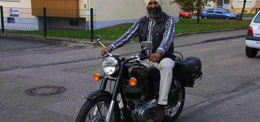Helm statt Turban