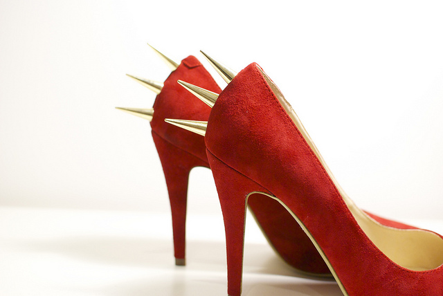 como fazer, scarpin, spikes, sapatos, diy,