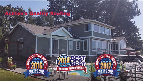 Achten S Quality Roofing Named Best Of The Best Roofing Company In