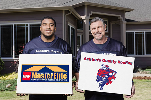 Awards Recognitions Achten S Quality Roofing Tacoma Wa Roofer