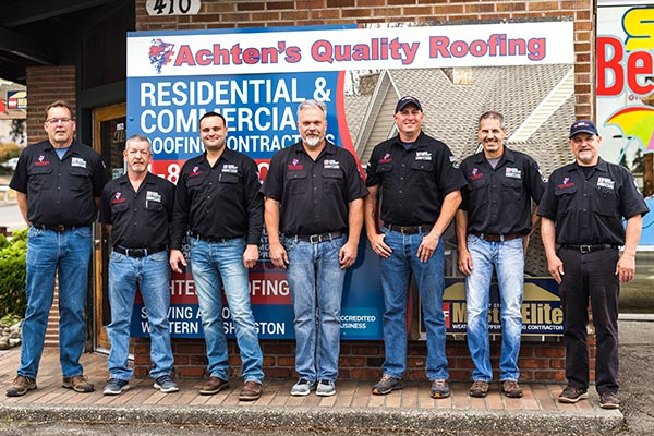 Showrooms Achten S Quality Roofing Tacoma Wa Roofing Company