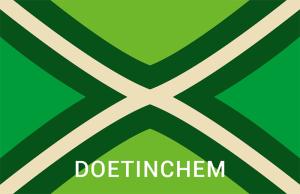 Achterhoekse Vlag Sticker Doetinchem