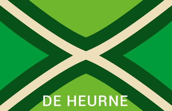 Achterhoekse Vlag Sticker de heurne