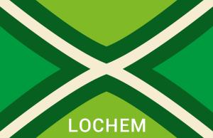 Achterhoekse Vlag Sticker Lochem