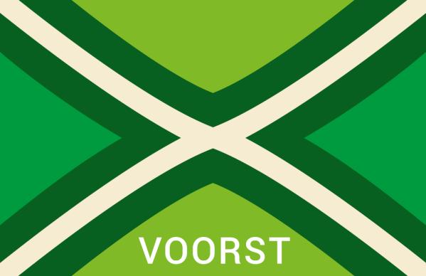 Achterhoekse Vlag Sticker Voorst