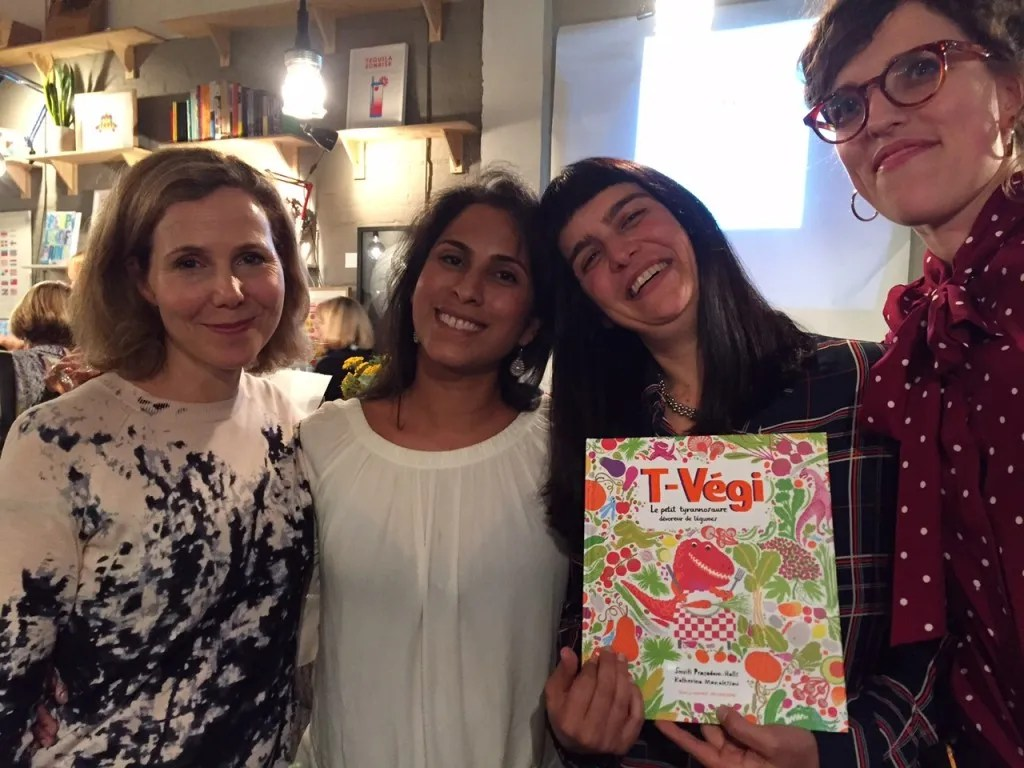 l to r: Sally Phillips, Smriti Prasadam-Halls, Katherina Manolessou, Rachel Williams