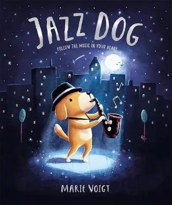 Jazz Dog by Marie Voigt