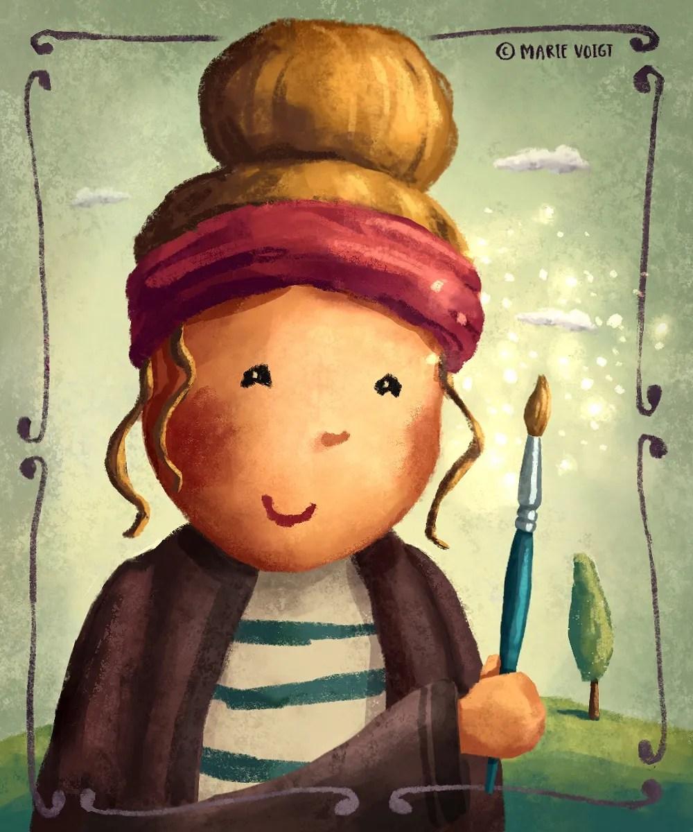 Meet An Illustrator 11 – Marie Voigt