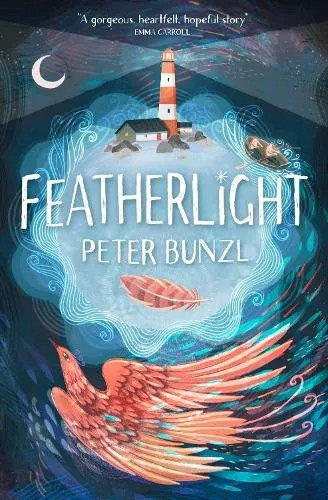 Featherlight by Peter Bunzl cover ill. Evan Hollingdale inside ill. Anneli Bray