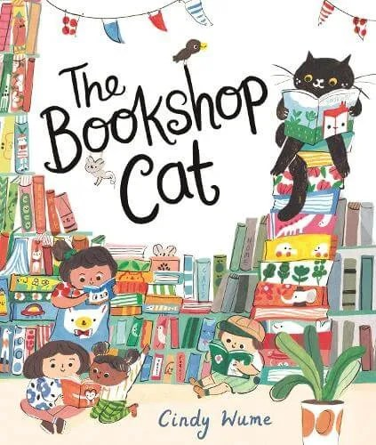 The Bookshop Cat by Cindy Wume
