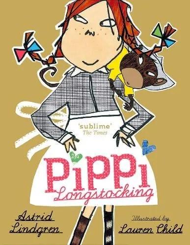 Pippi Longstocking by Astrid Lindgren ill. Lauren Child