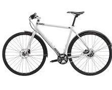 white hybrid bikes