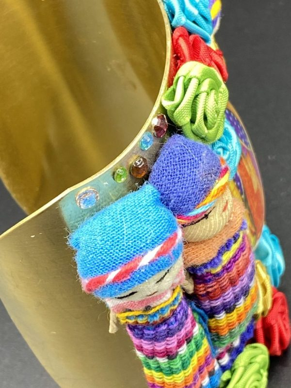 Mexican Dolls Bangle Cuff