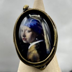Girl with a Pearl Earring Ring