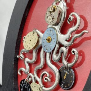 Octopus Steampunk Necklace