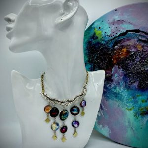 Galaxies Necklace