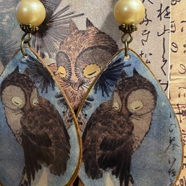 Utagawa Hiroshige Earrings