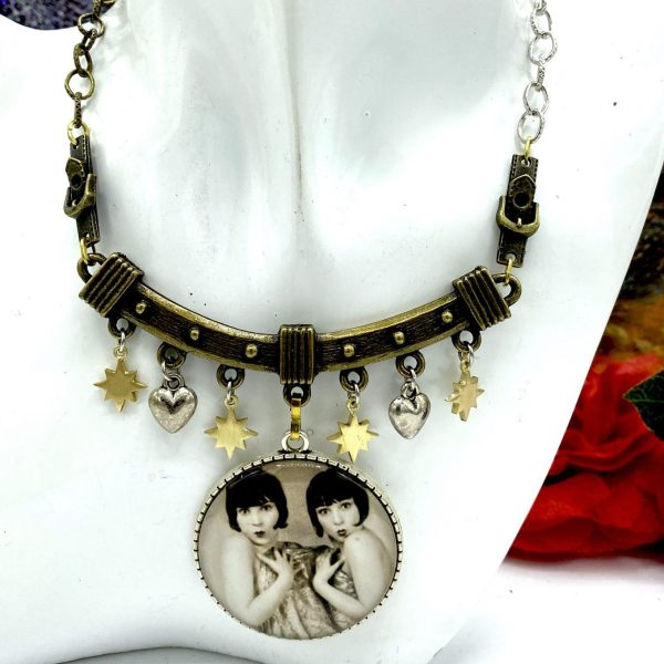 Twins Handmade Necklace