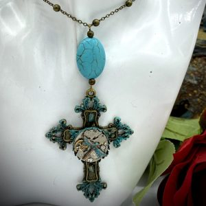 Steampunk Cross Necklace