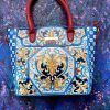 Majolica Hand painted bag
