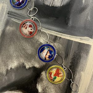 Marc Chagall handmade Necklace