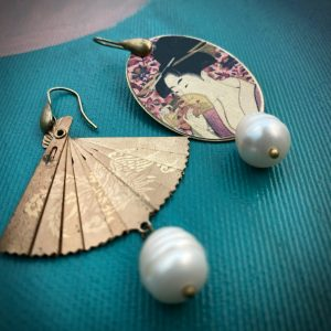 Japanese handmade earrings