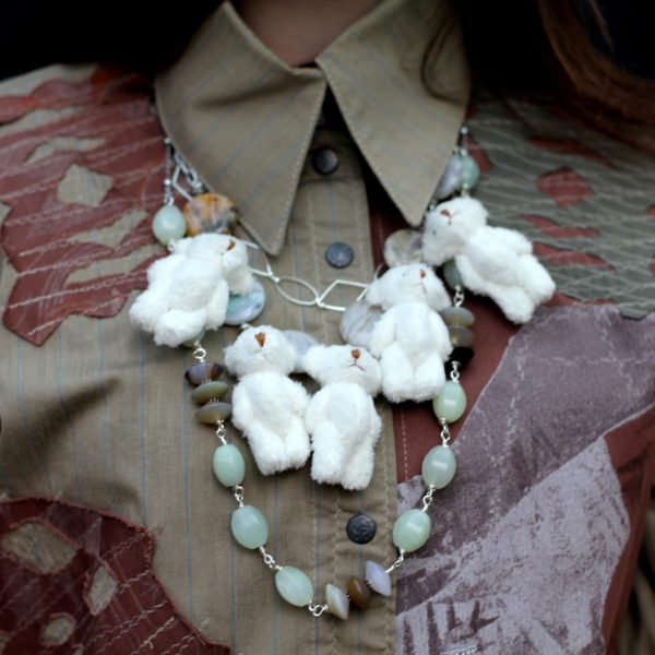 Soft and Happy handmade necklace