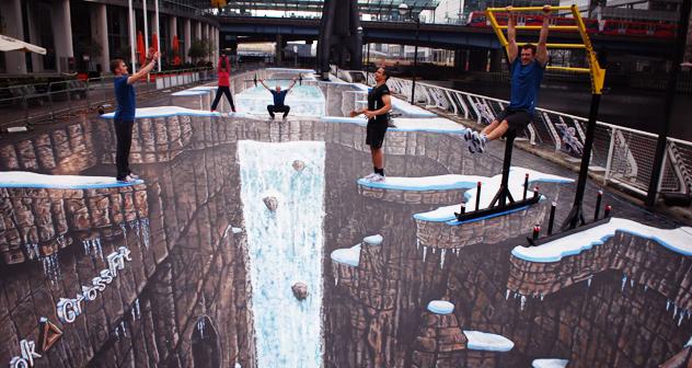 Maior pintura em 3D do mundo