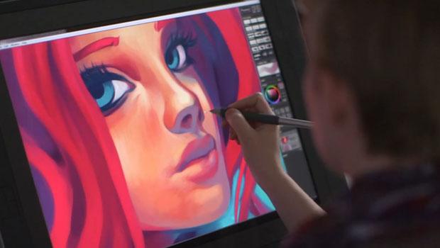 Mischief – Pintura digital com definição e canvas infinito
