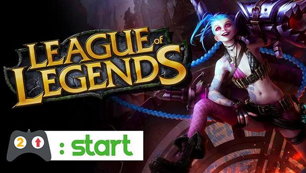 League Of Legends – DOIS PRA CIMA START 8