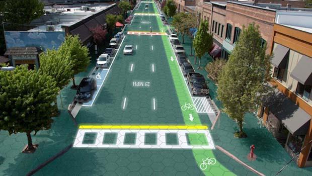 Energia vinda do asfalto e o mundo mágico do Solar Roadways.