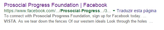 prosocial progress foundation vista h1