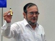 """""""Timoşenko"""" adıyla bilinen FARC lideri Londono Jimenez de FARC adına özür diledi."""