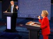 Trump ve Clinton tartışması