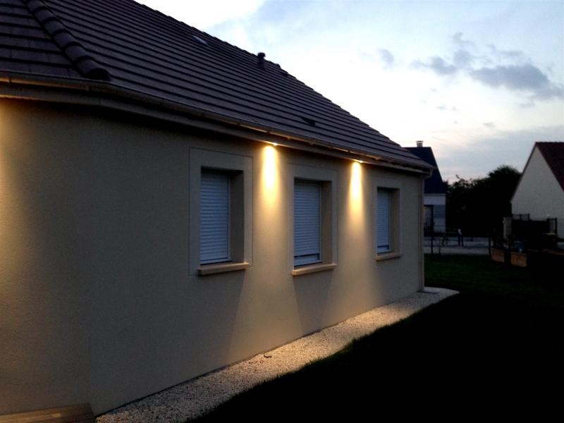 Spot exterieur encastrable cache moineau. Eclairage Exterieur Electriciens En Eure Et Loir Tous Travaux Electriques