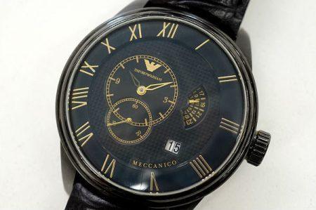 しっかりと遊び心と高級感が感じられる、エンポリオアルマーニの腕時計を出張買取いたしました