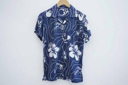 さりげないスカル柄がオシャレ!ルシアンペラフィネのメンズアロハシャツを宅配買取いたしました