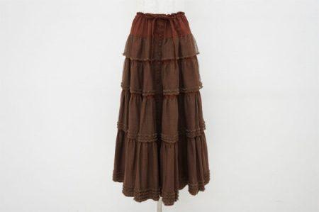 とことんロマンティックなワンダフルワールドのティアードスカートを買い取りました